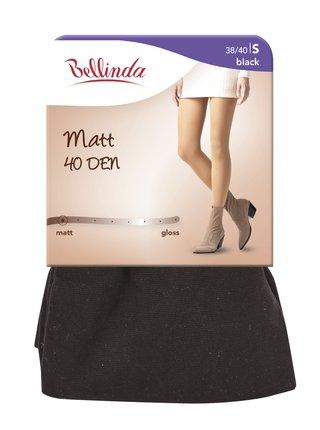 Punčochové kalhoty MATT 40 DEN - Dámské punčochové kalhoty - černá