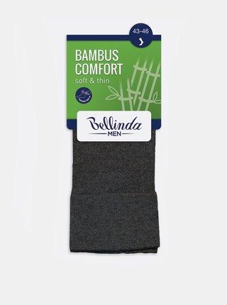 Pánské ponožky BAMBUS COMFORT SOCKS - Bambusové klasické pánské ponožky - světle modrá
