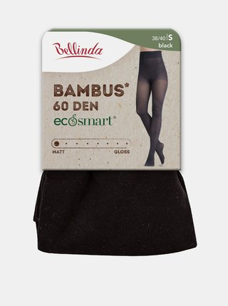 Ekologické bambusové punčochové kalhoty ECOSMART BAMBUS 60 DEN - Dámské bambusové punčochy - šedá