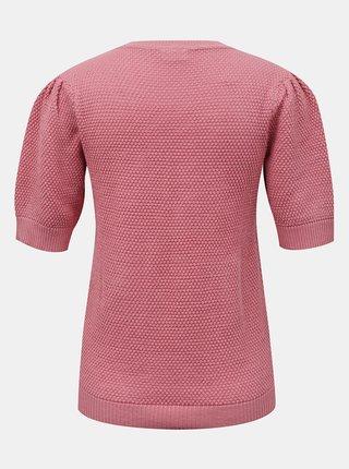 Ružový svetrový top VILA Chassa