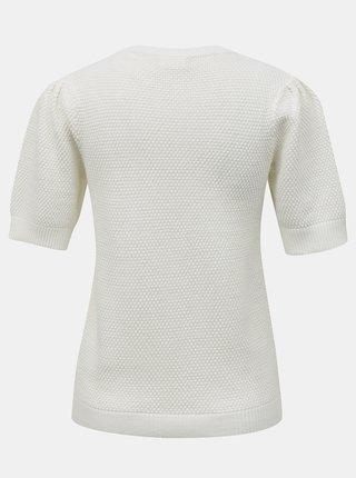 Bílý svetrový top VILA Chassa