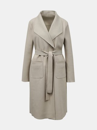 Krémový lehký kabát VILA Juice