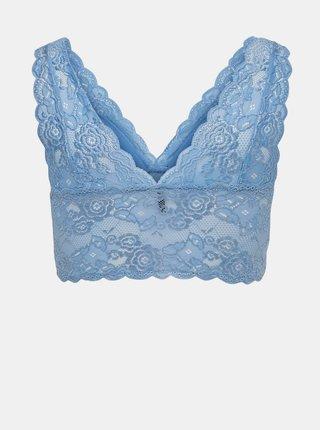 Modrá krajková podprsenka ONLY Chloe