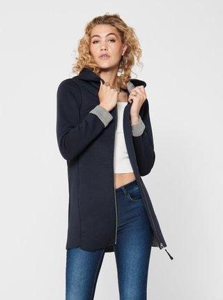 Černý mikinový kabát s kapucí ONLY Lena