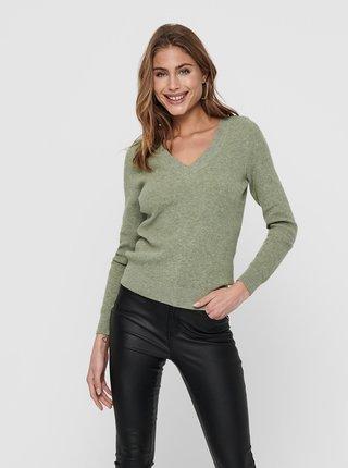 Zelený svetr ONLY Atia