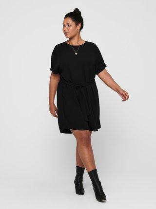 Černé šaty se zavazováním ONLY CARMAKOMA Jackie