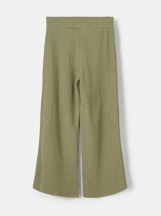 Kaki dievčenské nohavice name it Birka