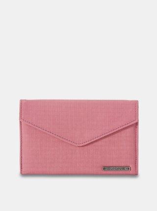 Dakine CLOVER TRI-FOLD FADED GRAPE dámská značková peněženka - růžová