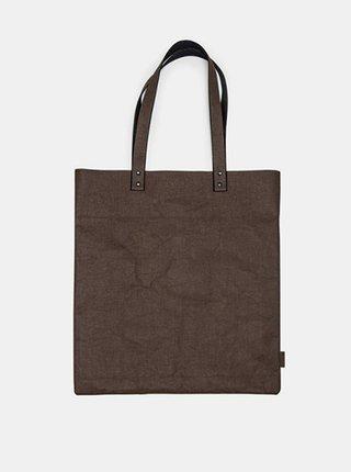 Dámská hnědá taška Brunit Washpaper Handbag BeWooden