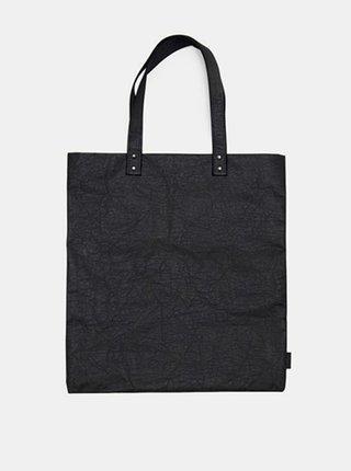 Dámská černá taška Grafit Washpaper Handbag BeWooden