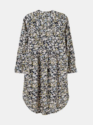 Tmavě modré holčičí květované šaty name it Barilisa