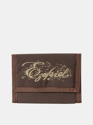 Ezekiel VELCRO CHOCOLATE dámská značková peněženka - hnědá