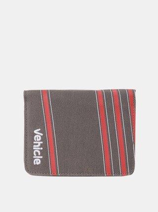 Vehicle OYSTER CHARCOAL dámská značková peněženka - šedá