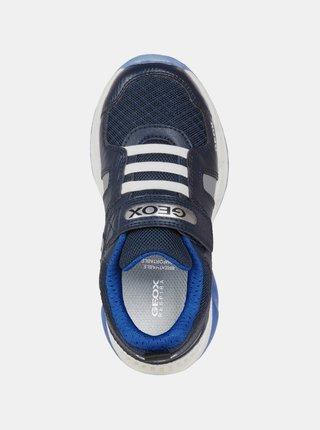 Modré klučičí tenisky Geox Spaziale
