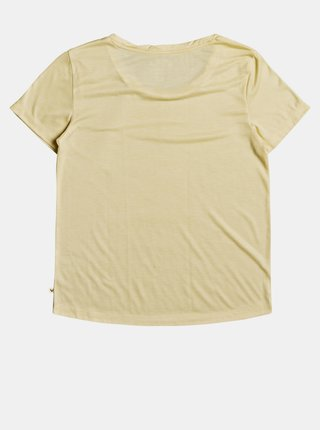 Žluté tričko s potiskem Roxy