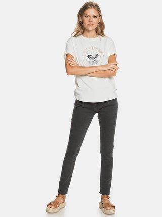 Bílé tričko s potiskem Roxy