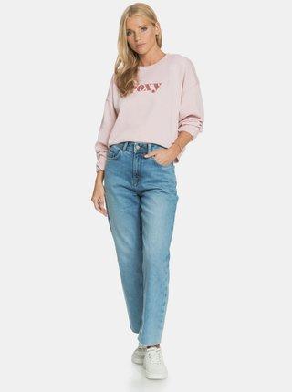 Světle růžová mikina Roxy