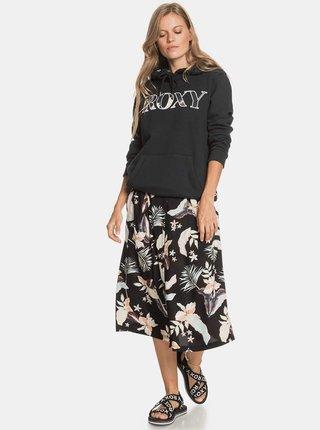 Černá mikina s kapucí Roxy