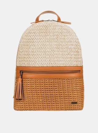 Hnědo-béžový batoh Roxy