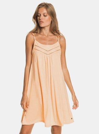 Meruňkové šaty Roxy