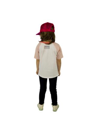 Bílé holčičí tričko s potiskem pejska Buldok