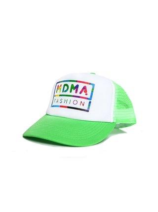 Zelená kšiltovka s potiskem MDMA FASHION