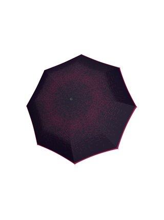 Doppler Lang Carbonsteel Passion luxusní dámský deštník se vzorem - Fialová