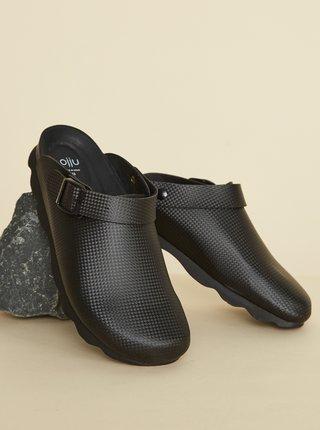 Černé pánské pantofle OJJU