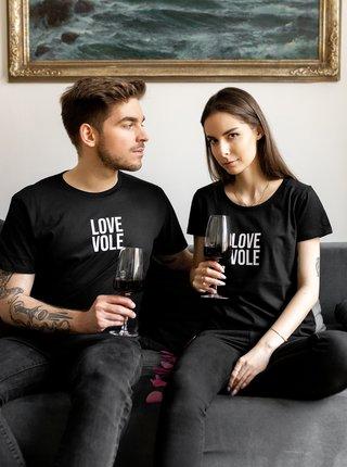 Černé pánské tričko ZOOT Original Love Vole