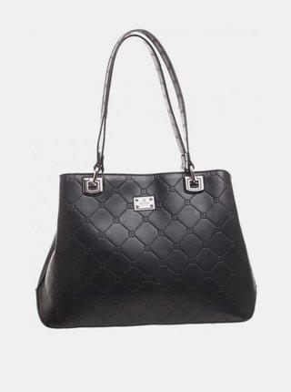 Černá vzorovaná kabelka Bessie London