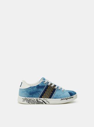 Desigual modré tenisky Shoes Cosmic Exotic Denim
