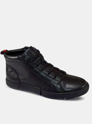 Lee Cooper čierne pánske topánky Black Unique