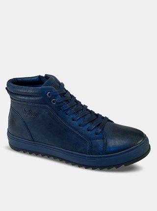 Lee Cooper modré pánske topánky Blue Unique
