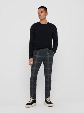 Tmavomodrý sveter ONLY & SONS Panter