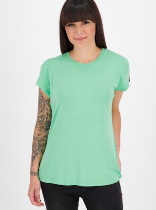 Zelené dámské tričko Alife and Kickin