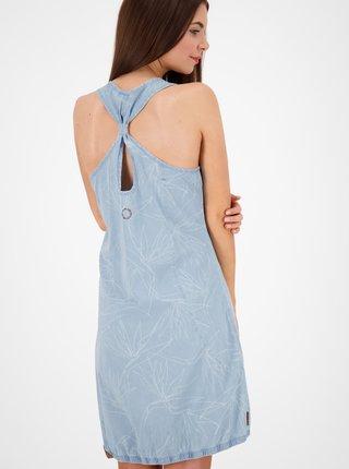 Svetlomodré rifľové šaty Alife and Kickin