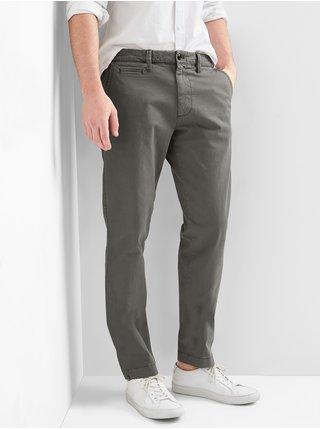 Šedé pánské kalhoty GAP