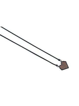 Náhrdelník s dřevěným detailem Apis Nox Necklace Heart