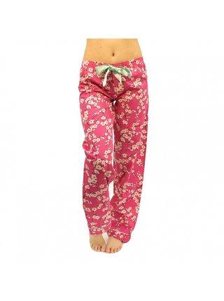 Dámské kalhoty na spaní Molvy růžové