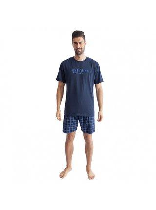 Pánské pyžamo Gino tmavě modré