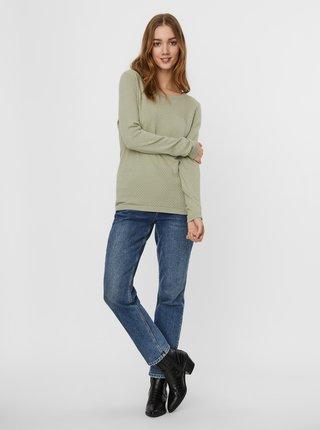 Svetlozelený sveter VERO MODA Care
