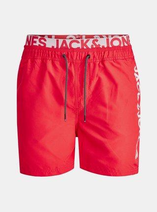 Červené plavky Jack & Jones Bali