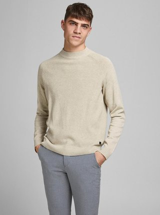 Béžový sveter Jack & Jones Henry
