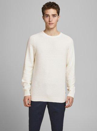 Krémový sveter Jack & Jones
