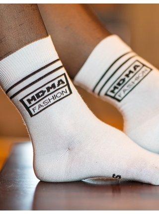 Bílé ponožky Sniff