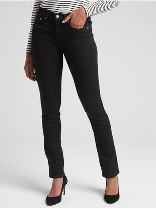 Černé dámské džíny GAP Straight