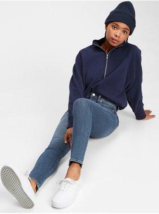 Modré dámské džíny GAP Skinny