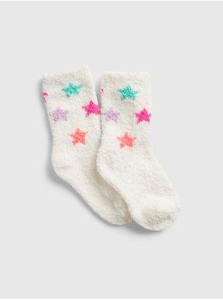 Bílé holčičí ponožky GAP