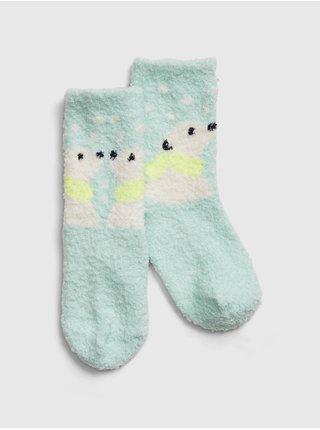 Modré holčičí ponožky GAP