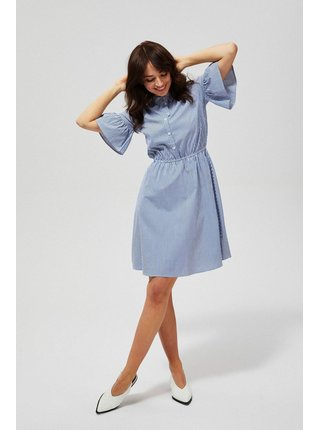 Moodo modro-bílé šaty s proužky